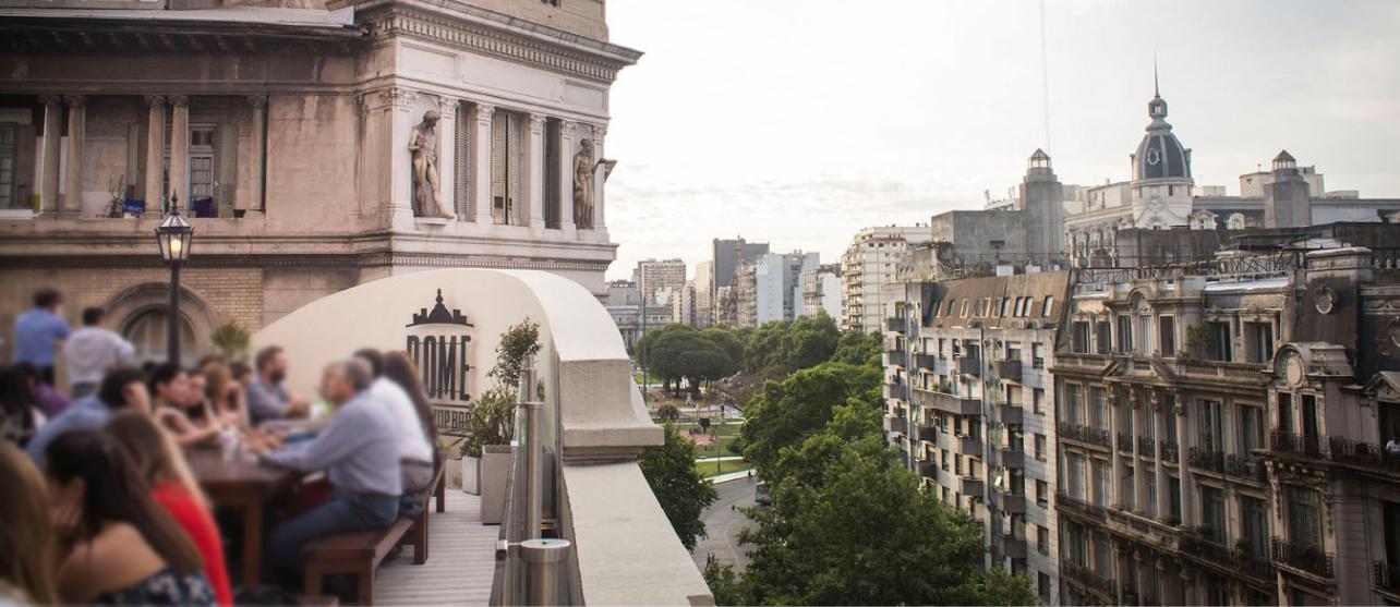 Dome Rooftop Bar After Office Frente A Las Cúpulas Porteñas